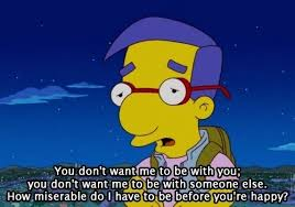 Millhouse Meme - how miserable milhouse daryll van houten know your meme