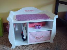 Pink Changing Table by Review Bitty Baby Changing Table Small Dolls In A Big World