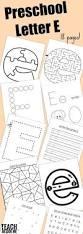 preschool letter e activities letter of the week teach beside me