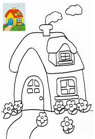 dessin ã colorier maison du pere noel gratuit maison de poupées