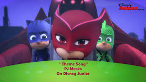pj masks song theme song disney junior official