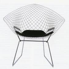 Diamond Armchair Harry Bertoia Italian Furniture Designer And Knoll Designer
