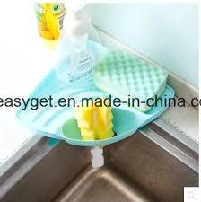 Kitchen Sink Brush Sponge Holder For Kitchen Sink And Kitchen Sink Caddy Sponge