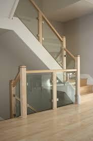 Wood Glass Stairs Design Photos Hgtv Rustic Wood Stairs With Modern Glass Railing Loversiq