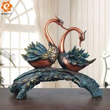 online buy wholesale resin swan sculpture from china resin swan
