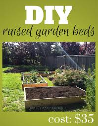 Diy Garden Bed Ideas Raised Beds How To Build Raised Garden Beds For 35