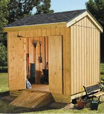Free Outdoor Wood Shed Plans by Download A Free 8x12 Storage Shed Plan 8x10 Garden Shed Plan