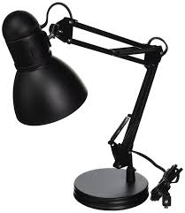 boston harbor architect swing arm desk lamp 26 inches black