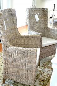 Pier One Chairs Dining Funiture Fabulous Rattan Wingback Chair World Market Wicker