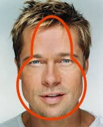 hairstyles for inverted triamgle face men the ten most common face shapes for men bullshitist