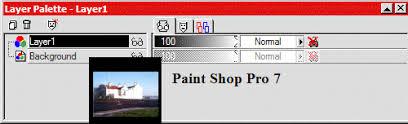 layers paint shop pro