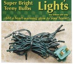 35 teeny rice clear 4mm bulbs light strand 12 ft green cord