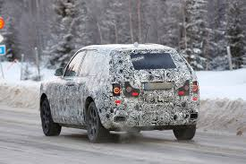 roll royce cullinan rolls royce cullinan suv on course to rival bentayga in 2018 newsdog