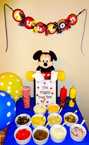 mickey mouse 1st birthday 159 best mickey mouse birthday party images on