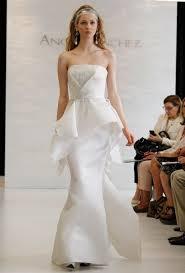 peplum wedding dresses from spring 2013 wedding dresses brides