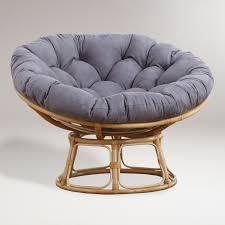 papasan chair cover decorating purple papasan cushion with rattan papasan chair for