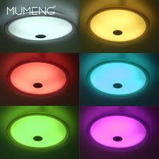 Deckenleuchte Schlafzimmer Dimmbar Mumeng Dimmbare Deckenleuchte Bluetooth Lautsprecher Led Lampe 36
