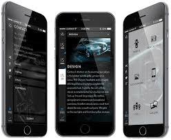 lexus phone app ui design santa cruz web and mobile design