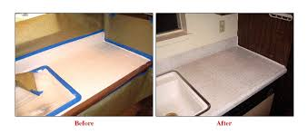 Resurface Kitchen Countertops Grout Expectations Countertop Refinishing