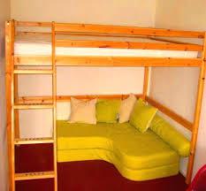 canap mezzanine lit mezzanine 2 places avec canape affordable le pour adulte bureau