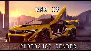 Bmw I8 Body Kit - bmw i8 photoshop render virtual tuning youtube