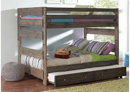 Bunk Bed With Storage Peaceful Living Furniture Grey Bunk Bed Storage Not
