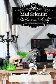 Halloween Birthday Ideas Mad Scientist Halloween Party Ideas Halloween Party Games
