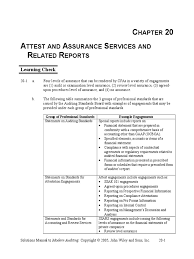 agreed upon procedures report template boynton sm ch 20 audit financial audit