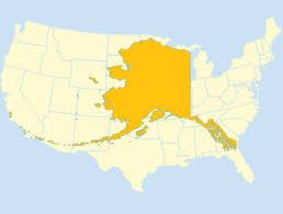 us map w alaska us map with alaska overlay