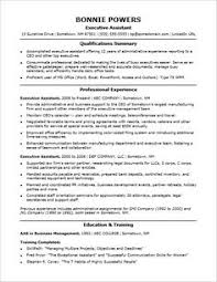 Executive Assistant Resume Template Keyword Optimized Executive Assistant Resume Template 45
