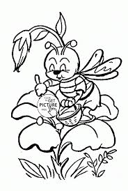 nature coloring pages for kids colouring pictures to print free