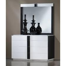 chambre laque noir chambre adulte contemporaine laque blanc et noir lit 120
