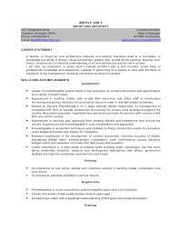 Resume For Architecture Student Architect Resume Summary Apigramcomarchitect Resume Sample