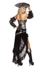 Pirate Woman Halloween Costumes Deadly Pirate Captain Woman Costume 111 99 Costume Land