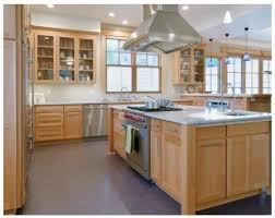 maple cabinets with white countertops maple cabinet kitchens home design ideas
