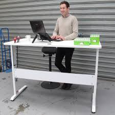 Sit Stand Electric Desk by Sit Stand Electric Desks