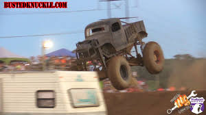monster trucks racing in mud jimmy durr and his mega monster mud truck conquer mud track and