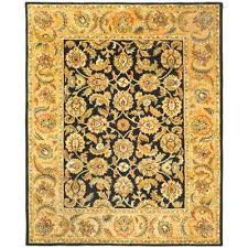 Black And Gold Rug Black Gold Area Rugs Rugs The Home Depot