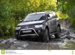 pajero mitsubishi 2015 karelia russia august 18 2015 off road expedition for
