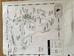 Africa Physical Map Quiz by Mr Hammett World Geography March 2016