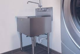 stainless steel laundry sink a line by advance tabco professional stainless steel products for