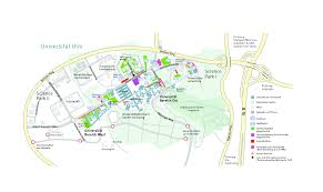 Und Campus Map Maps Ulm University
