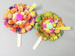 color color everywhere how to make the paper plate flower craft