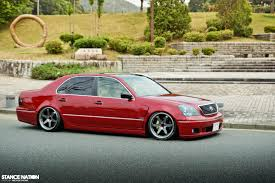 lexus ls430 rim size slammed big body stancenation form u003e function