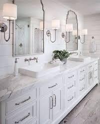 tile bathroom ideas photos gray bath vanity with lucite stool transitional bathroom