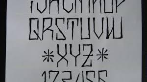 gangster graffiti fonts blog names tattoo lettering styles fancy