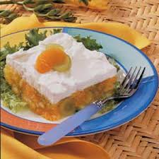fruited lemon gelatin salad recipe taste of home