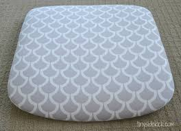 Covering A Seat Cushion How To Reupholster Chairs