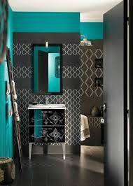 Blue And Green Bathroom House Decor Pinterest by Black And Blue Wall Decor For Small Bathroom Bathroom Decor