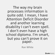Quotes on Attention Deficit Disorder   Quote Addicts Reading is everything